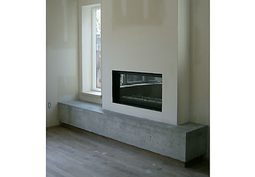 12 Interior - Fireplace